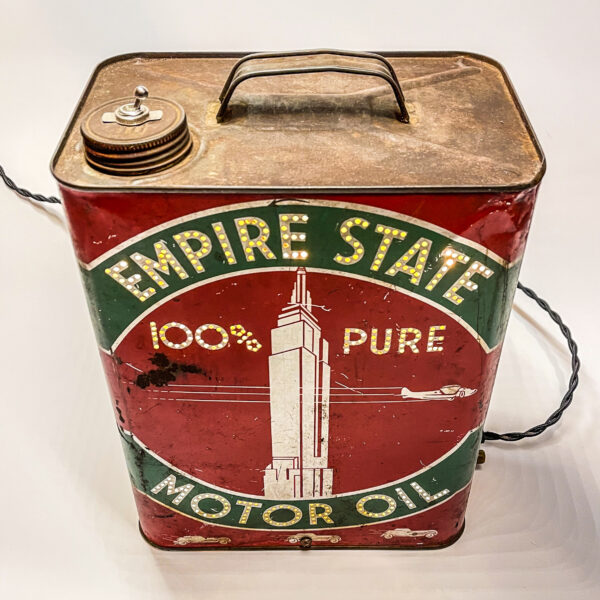 Vintage Oil Can Lamp - Junk In This Truck