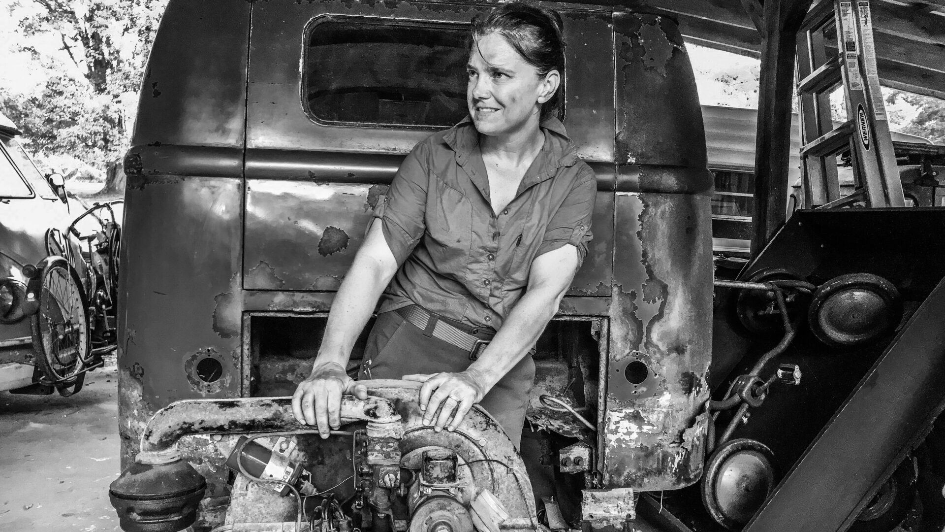 Junk In This Truck - Marci Wease - Metal Artist