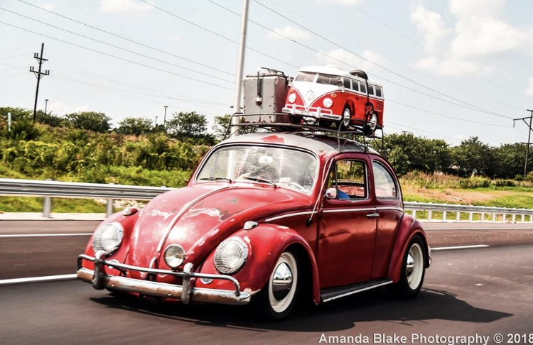 Vintage VW Bus and Bug - Junk In This Truck - Amanda Blake Photography