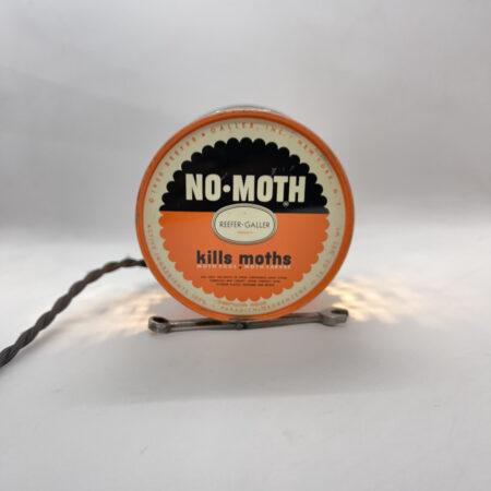 Repurposed No Moth Tin Can Lamp - Junk In This Truck