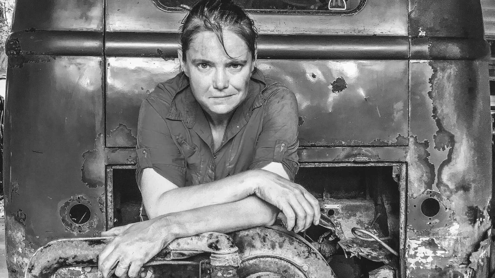Salvaged - Junk In This Truck - Marci Wease - Metal Artist