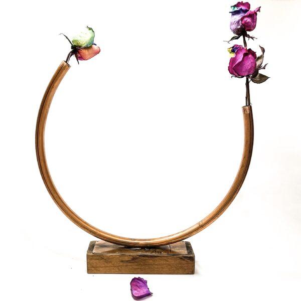 CIrcle Of Life Large Flower Vase - Energy Peaceful Spiritual Art - Junk In This Truck